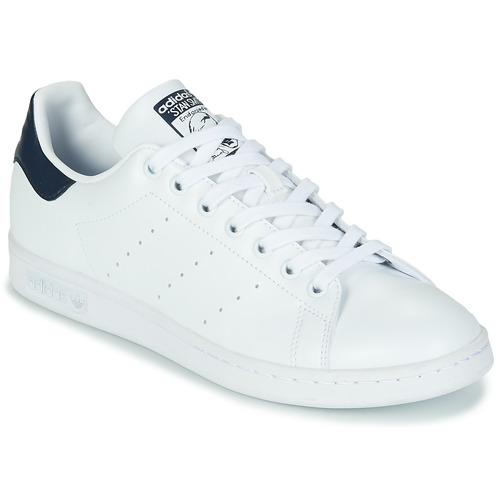 Topánky Nízke tenisky adidas Originals STAN SMITH SUSTAINABLE Biela / Námornícka modrá