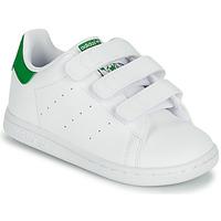 Topánky Deti Nízke tenisky adidas Originals STAN SMITH CF I SUSTAINABLE Biela / Zelená