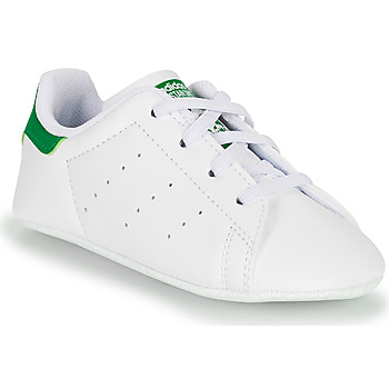 Topánky Deti Nízke tenisky adidas Originals STAN SMITH CRIB SUSTAINABLE Biela / Zelená