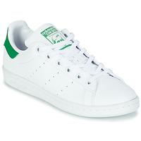 Topánky Deti Nízke tenisky adidas Originals STAN SMITH J SUSTAINABLE Biela / Zelená