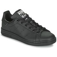 Topánky Deti Nízke tenisky adidas Originals STAN SMITH J SUSTAINABLE Čierna