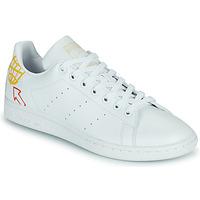 Topánky Ženy Nízke tenisky adidas Originals STAN SMITH W SUSTAINABLE Biela / Viacfarebná