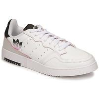 Topánky Ženy Nízke tenisky adidas Originals SUPERCOURT Biela