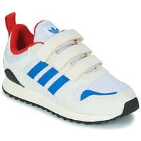 Topánky Deti Nízke tenisky adidas Originals ZX 700 HD CF C Béžová / Modrá
