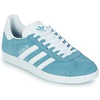 Topánky Ženy Nízke tenisky adidas Originals GAZELLE W Modrá