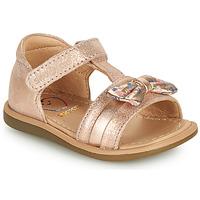 Topánky Dievčatá Sandále Shoo Pom TITY NEW KNOT Ružová