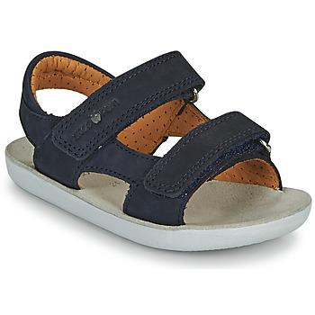 Topánky Chlapci Sandále Shoo Pom GOA BOY SCRATCH Modrá