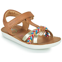 Topánky Dievčatá Sandále Shoo Pom GOA SALOME Hnedá