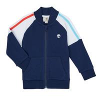 Oblečenie Chlapci Mikiny Timberland SOTTA Námornícka modrá