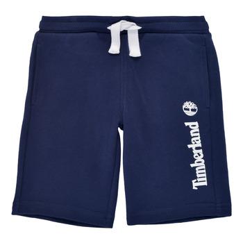 Oblečenie Chlapci Šortky a bermudy Timberland SHOTA Námornícka modrá