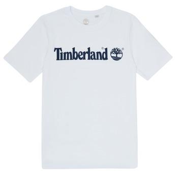 Oblečenie Chlapci Tričká s krátkym rukávom Timberland FONTANA Biela