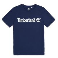 Oblečenie Chlapci Tričká s krátkym rukávom Timberland VUILL Námornícka modrá