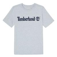 Oblečenie Chlapci Tričká s krátkym rukávom Timberland NINNO Šedá