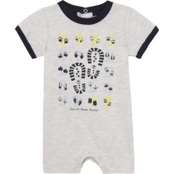 Oblečenie Chlapci Módne overaly Timberland SUPLLI Šedá