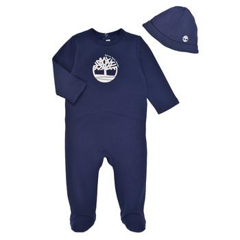 Oblečenie Chlapci Pyžamá a nočné košele Timberland HIPPI Námornícka modrá