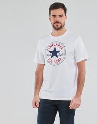 Oblečenie Muži Tričká s krátkym rukávom Converse NOVA CHUCK PATCH TEE Biela