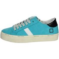 Topánky Dievčatá Nízke tenisky Date J301 Sky-blue