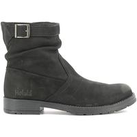 Topánky Deti Polokozačky Holalà HL120002L čierna