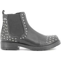 Topánky Deti Polokozačky Holalà HL120005L čierna
