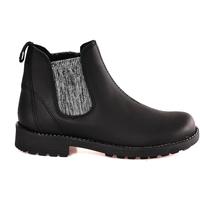 Topánky Deti Polokozačky Grunland PO1384 čierna