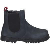 Topánky Chlapci Polokozačky Grunland PP0375 Modrá