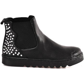 Topánky Deti Polokozačky Holalà HL0001L0002J čierna