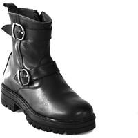 Topánky Deti Polokozačky Asso 67961 čierna