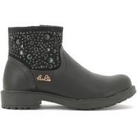 Topánky Deti Polokozačky Lulu LL110015S čierna