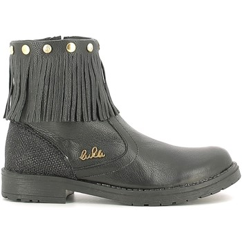 Topánky Deti Polokozačky Lulu LL100020L čierna