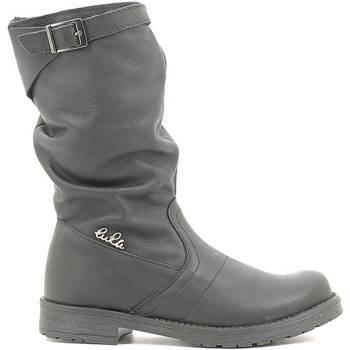 Topánky Deti Čižmy do mesta Lulu LL1000017L čierna