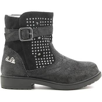 Topánky Deti Polokozačky Lulu LL140006S čierna