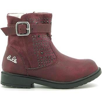 Topánky Deti Polokozačky Lulu LL140006S Červená