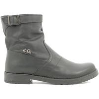 Topánky Deti Polokozačky Lulu LL1000019L čierna