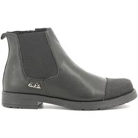 Topánky Deti Polokozačky Lulu LL100022L čierna