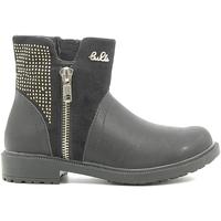 Topánky Deti Polokozačky Lulu LL110016S čierna