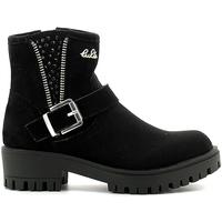 Topánky Deti Polokozačky Lulu LL120008S čierna