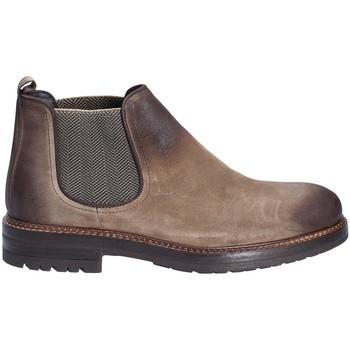 Topánky Muži Polokozačky Exton 695 Hnedá