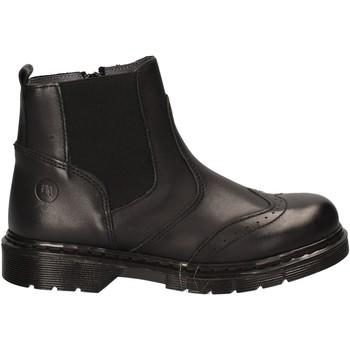 Topánky Deti Polokozačky Melania ME6168F7I.A čierna