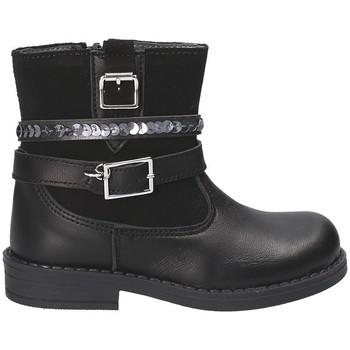 Topánky Deti Polokozačky Melania ME1138B7I.A čierna