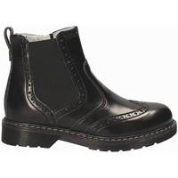Topánky Deti Polokozačky NeroGiardini A734441M čierna