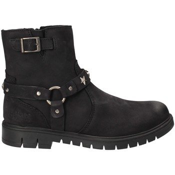 Topánky Deti Polokozačky Holalà HL140013L čierna