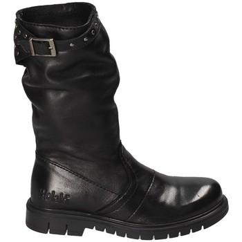 Topánky Deti Polokozačky Holalà HL140019L čierna