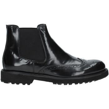 Topánky Muži Polokozačky Exton 498 čierna
