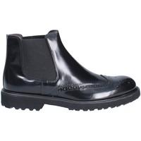 Topánky Muži Polokozačky Exton 5357 čierna