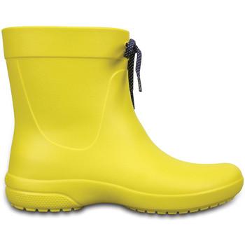 Topánky Muži Gumaky Crocs 203851 žltá