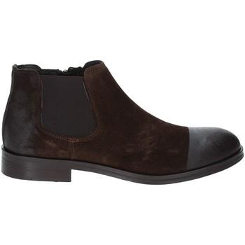 Topánky Muži Polokozačky Exton 5357 Hnedá