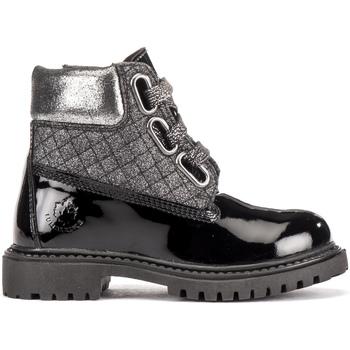 Topánky Deti Polokozačky Lumberjack SG00101 012 U91 čierna