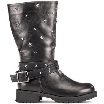 Topánky Deti Polokozačky Lumberjack SG21107 002 S01 čierna