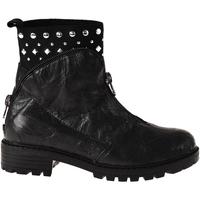 Topánky Deti Polokozačky Grunland PO1068 čierna