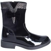 Topánky Deti Polokozačky Melania ME2801D8I.B čierna